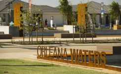 Strong sales for Orleana Waters' new land release