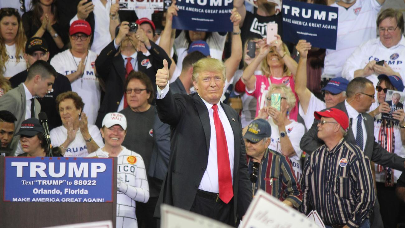 trump rally authentic