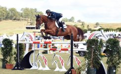 Merrick Ubank Takes Gold at Aquis Champions Tour Showjumping Event