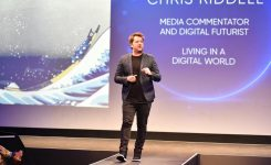 Global Futurist Chris Riddell Wants You to Think About the Future like a Technology Company