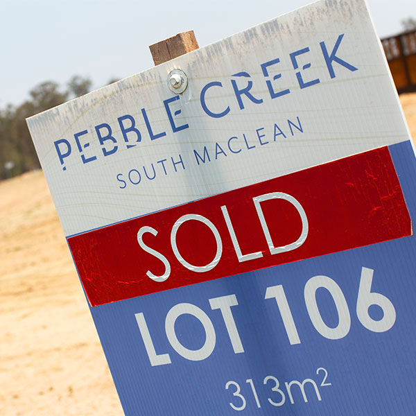 Pebble Creek Sold