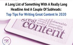 Top Tips For Writing Great Content In 2020: A Long List of Something With A Really Long Headline And A Couple Of Subheads